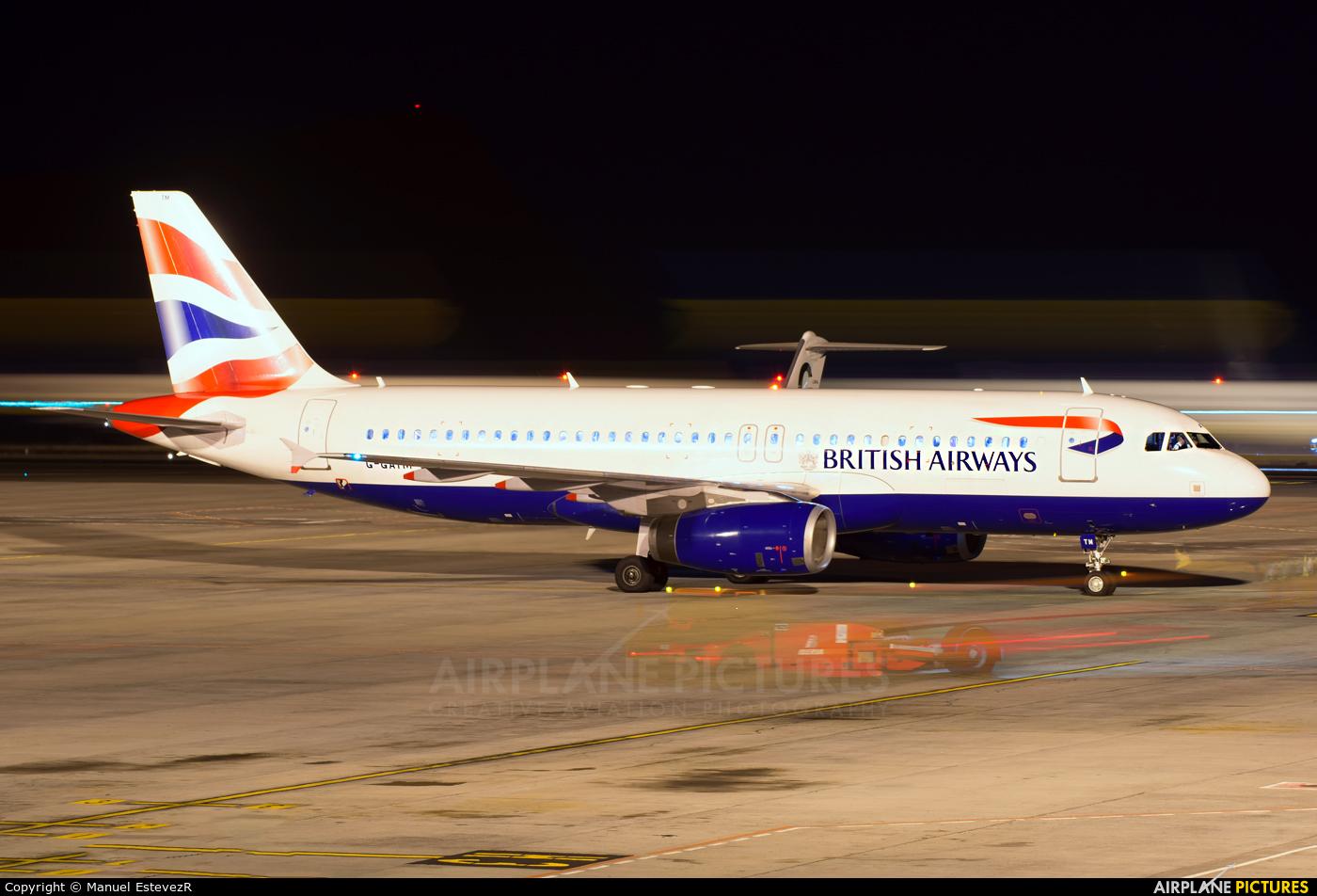 British Airways G-GATM aircraft at Tenerife Sur - Reina Sofia