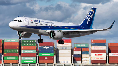 D-AVVO - ANA - All Nippon Airways Airbus A320 NEO