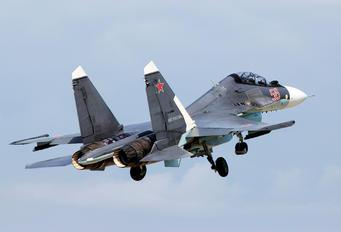RF-93666 - Russia - Air Force Sukhoi Su-30SM