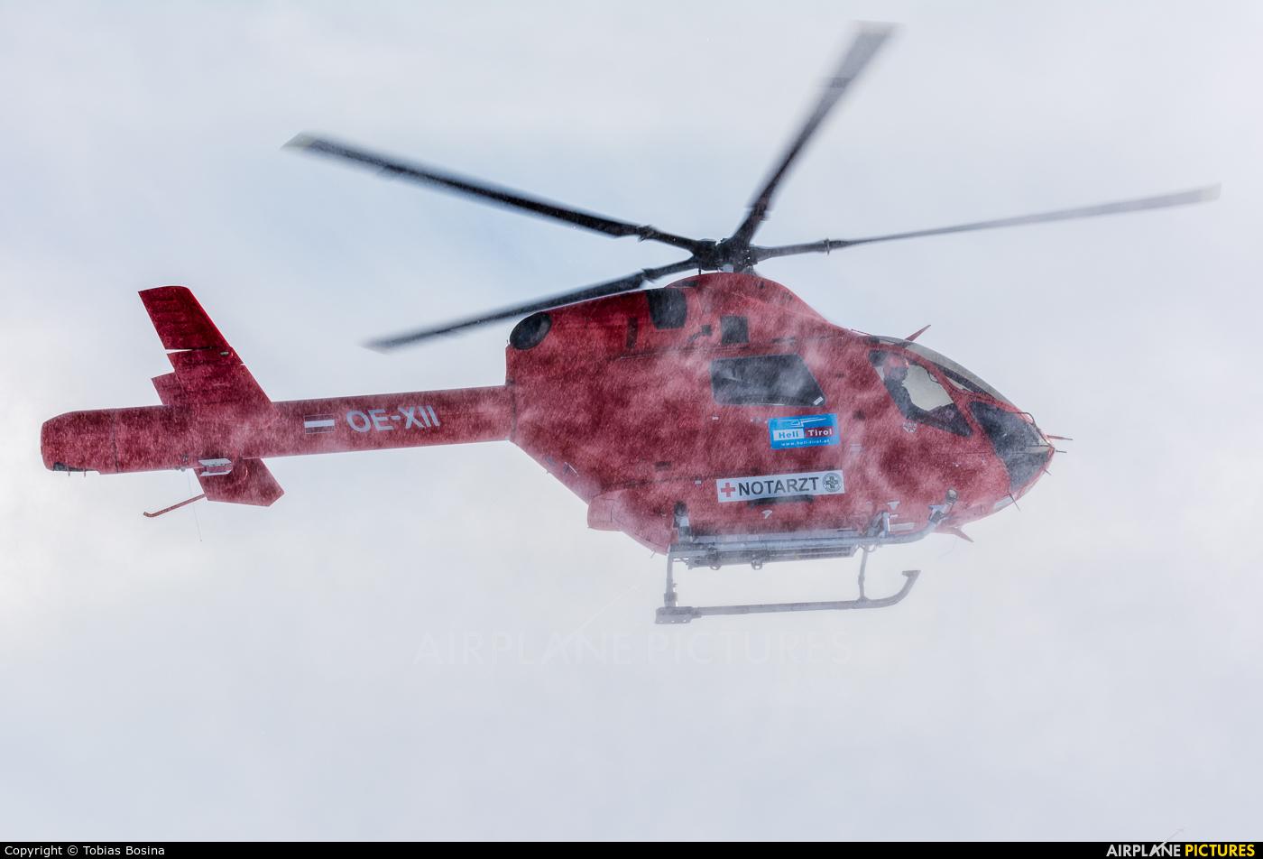 Heli Tirol OE-XII aircraft at Off Airport - Austria