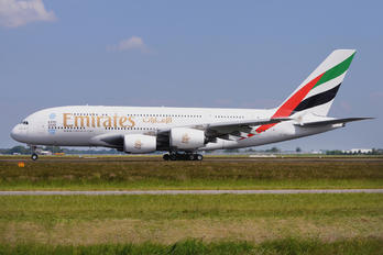 A6-EEX - Emirates Airlines Airbus A380