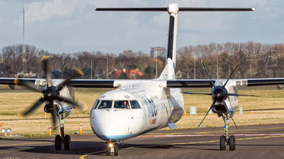 G-ECOR - Flybe de Havilland Canada DHC-8-400Q / Bombardier Q400