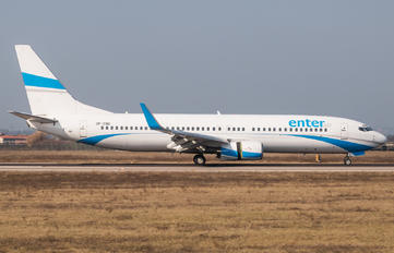 SP-ENU - Enter Air Boeing 737-800
