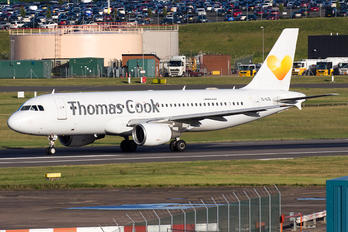 YL-LCL - Thomas Cook Airbus A320