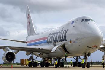 LX-VCV - Cargolux Boeing 747-400F, ERF