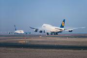 D-ABYL - Lufthansa Boeing 747-8 aircraft