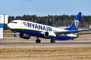 EI-FTO - Ryanair Boeing 737-86X(WL)