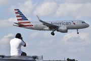 N4032T - American Airlines Airbus A319 aircraft