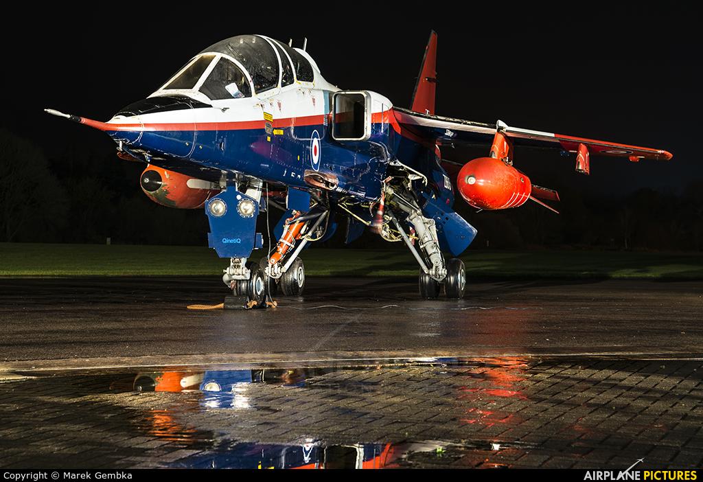 Royal Air Force ZB615 aircraft at Cosford