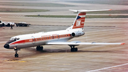 OK-HFM - CSA - Czech Airlines Tupolev Tu-134A