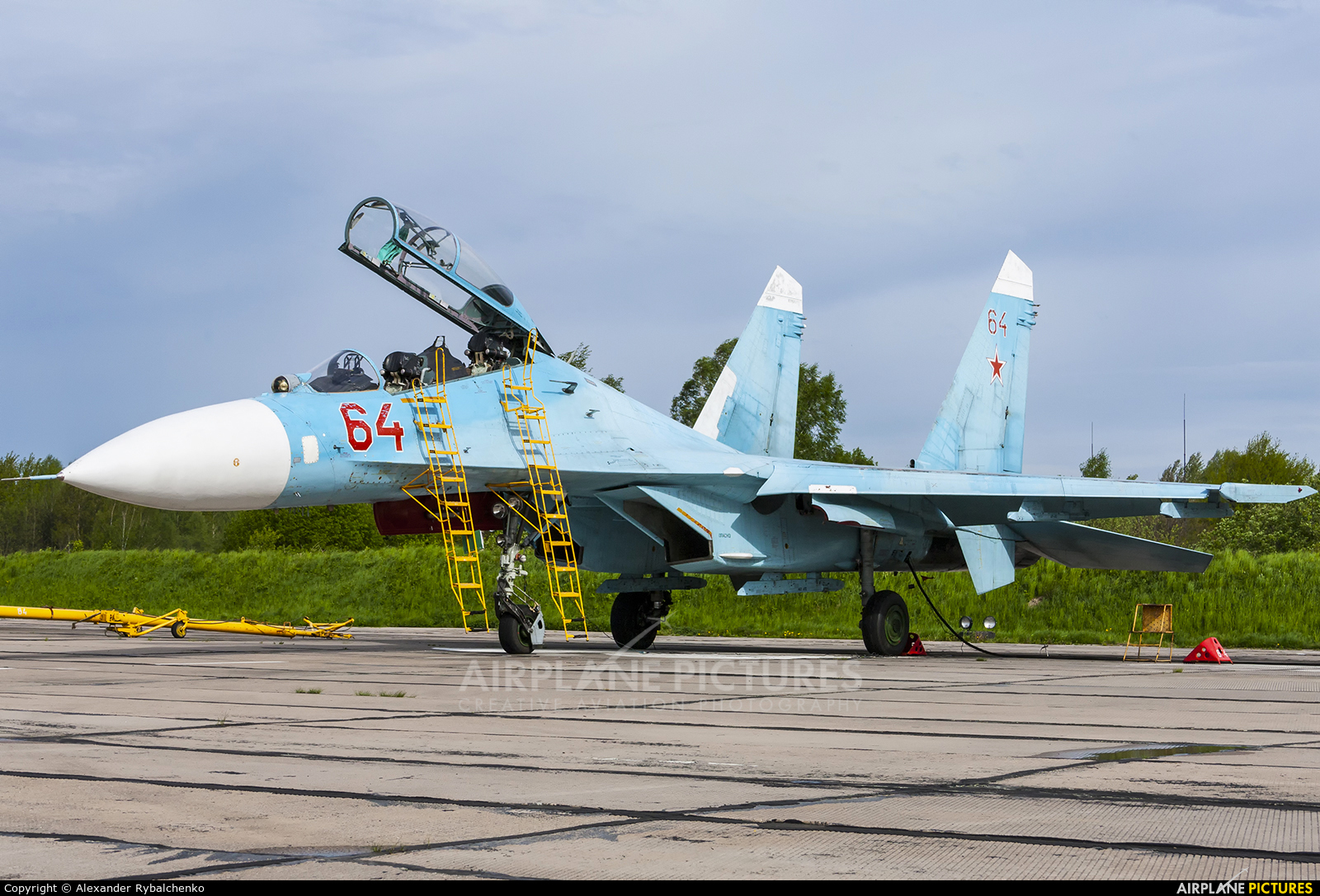 Russia - Navy 64 RED aircraft at Undisclosed Location