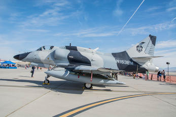 N163EM - Private Douglas A-4 Skyhawk (all models)