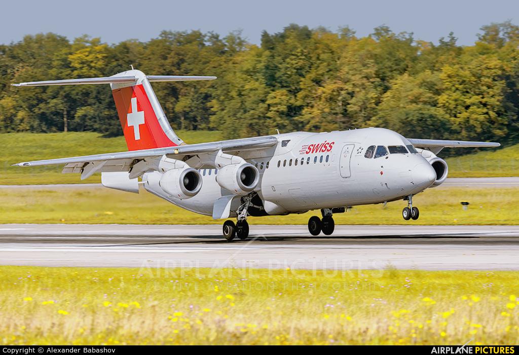 Swiss HB-IXN aircraft at Basel - Mulhouse- Euro