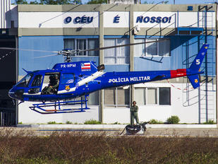 PR-HPM - Brazil - Military Police Helibras HB-350B Esquilo