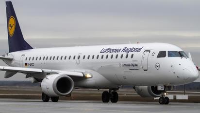 D-AECC - Lufthansa Regional - CityLine Embraer ERJ-190 (190-100)