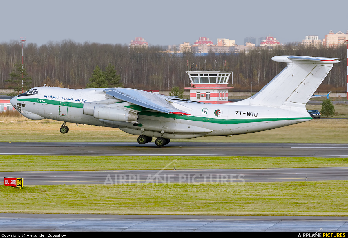 Algeria - Air Force 7T-WIU aircraft at St. Petersburg - Pulkovo