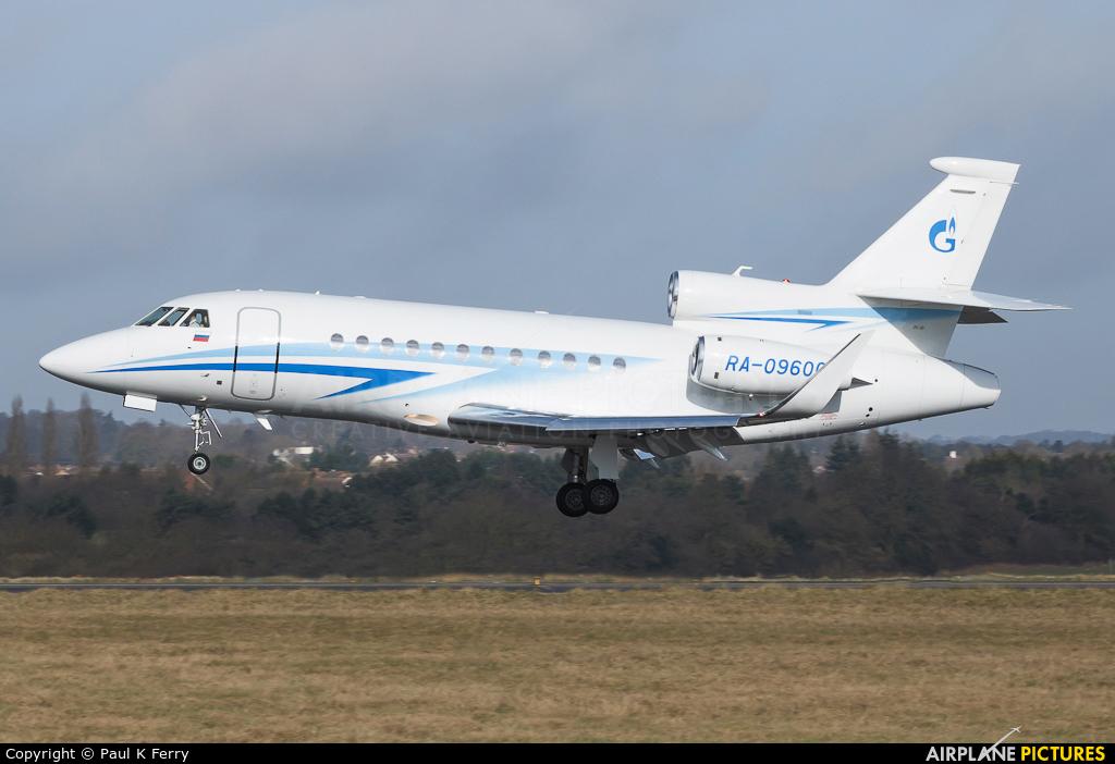Gazpromavia RA-09600 aircraft at London - Luton