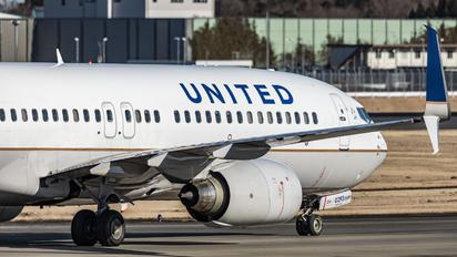 N37293 - United Airlines Boeing 737-800
