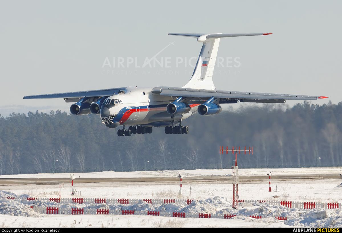 Russia - Ministry of Internal Affairs RA-76802 aircraft at Irkutsk