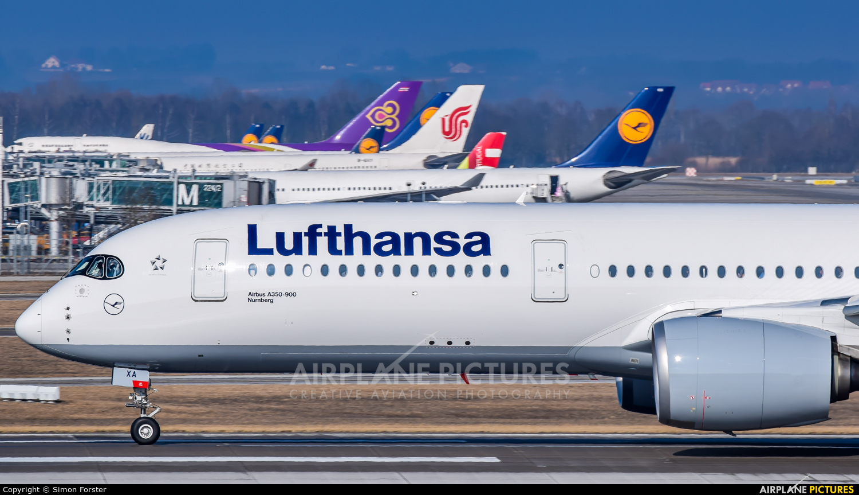 Lufthansa D-AIXA aircraft at Munich