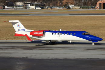 LX-ONE - Luxembourg Air Rescue Learjet 45