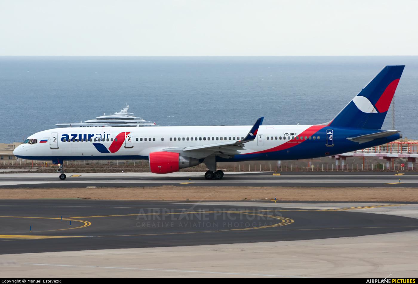 AzurAir VQ-BKF aircraft at Tenerife Sur - Reina Sofia