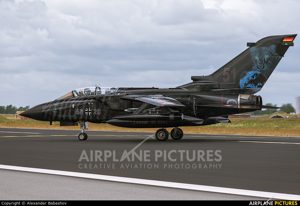 Germany - Air Force 46+28 aircraft at Schleswig-Jagel