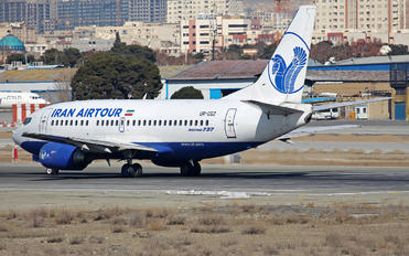 UR-CGZ - Iran Air Tours Boeing 737-500