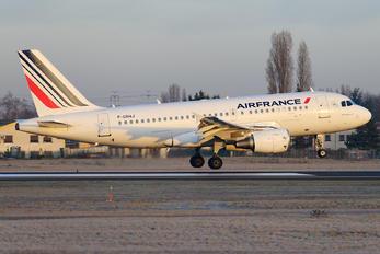 F-GRHJ - Air France Airbus A319