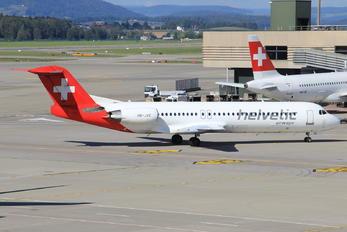 HB-JVE - Helvetic Airways Fokker 100