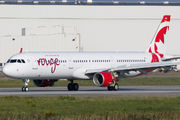 D-AVXF - Air Canada Rouge Airbus A321 aircraft