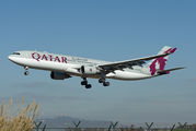 A7-AEG - Qatar Airways Airbus A330-300 aircraft