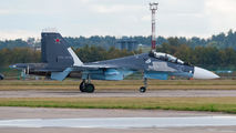 38 - Russia - Air Force Sukhoi Su-30SM aircraft