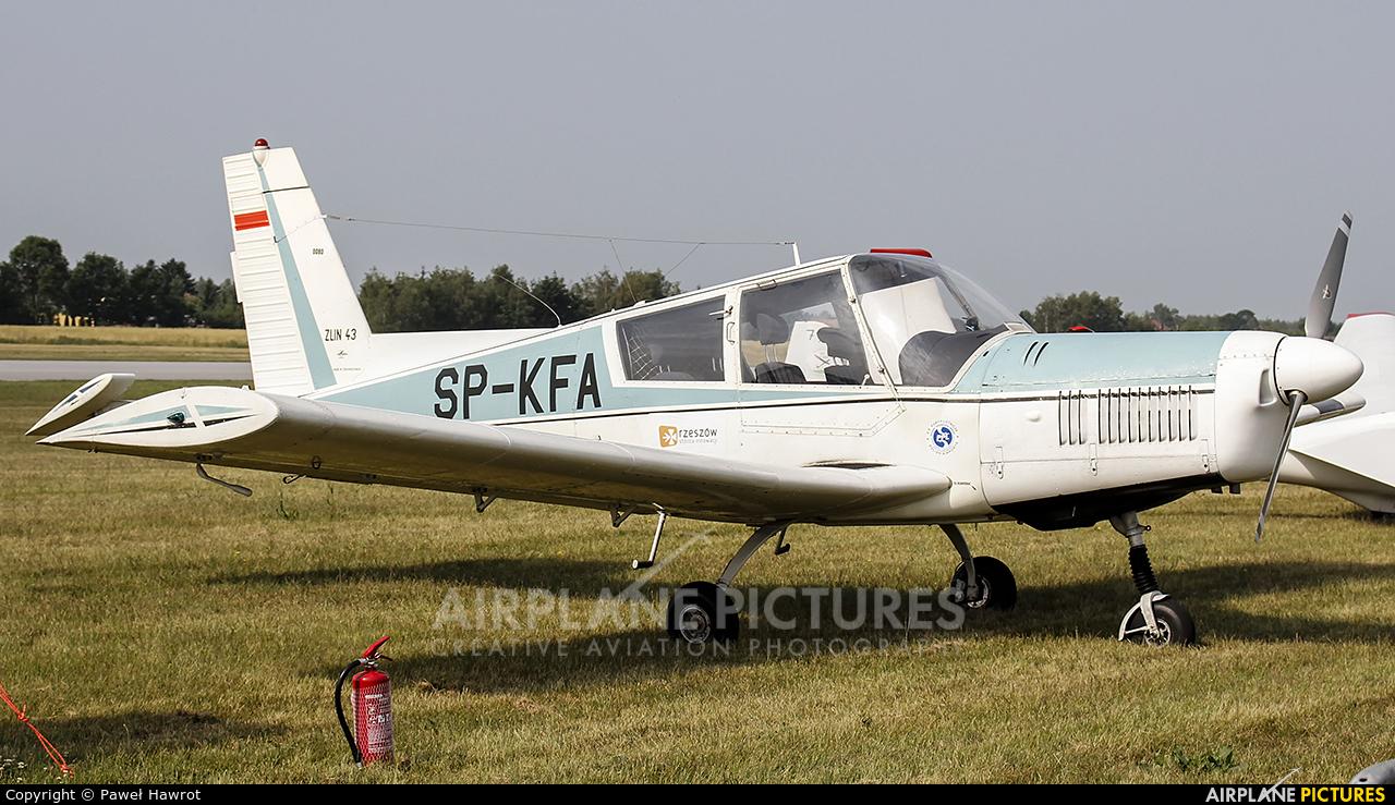 Aeroklub Rzeszowski SP-KFA aircraft at Rzeszów-Jasionka