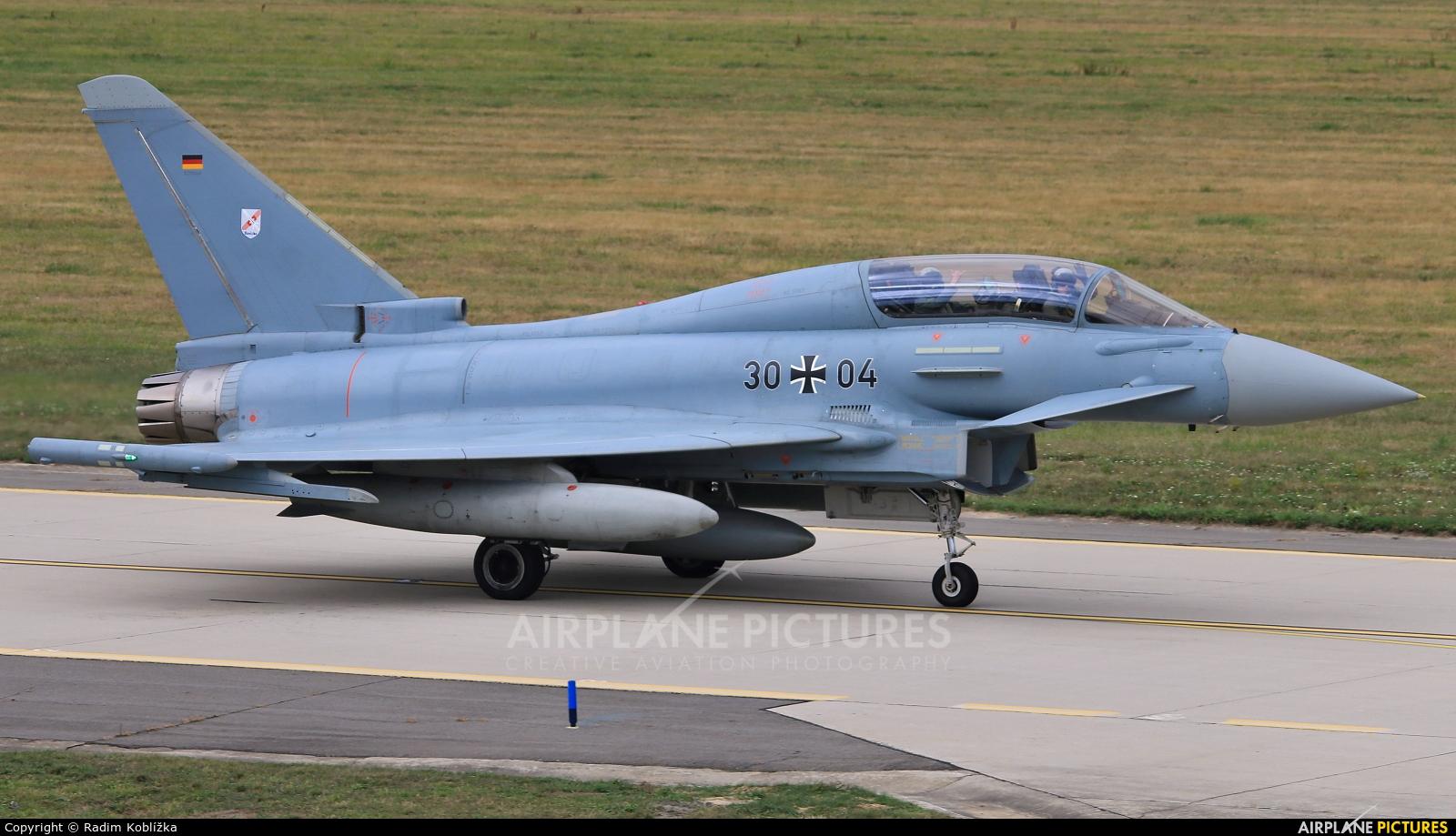 Germany - Air Force 30+04 aircraft at Ostrava Mošnov