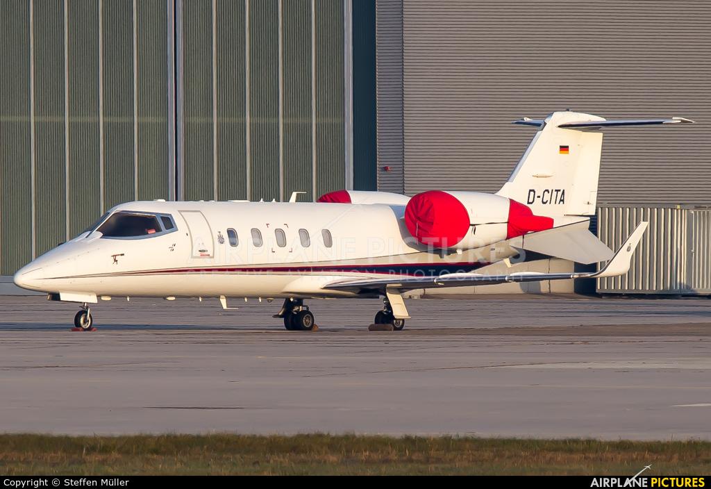Private D-CITA aircraft at Stuttgart