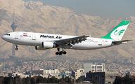EP-MNU - Mahan Air Airbus A300 aircraft