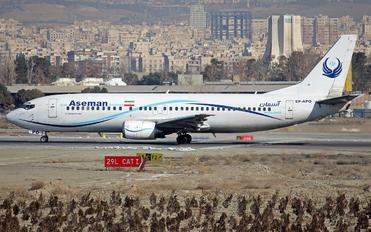 EP-APO - Iran Aseman Boeing 737-4H6
