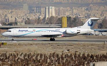 EP-ATC - Iran Aseman Fokker 100