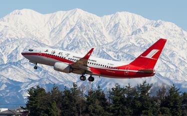 B-5801 - Shanghai Airlines Boeing 737-700