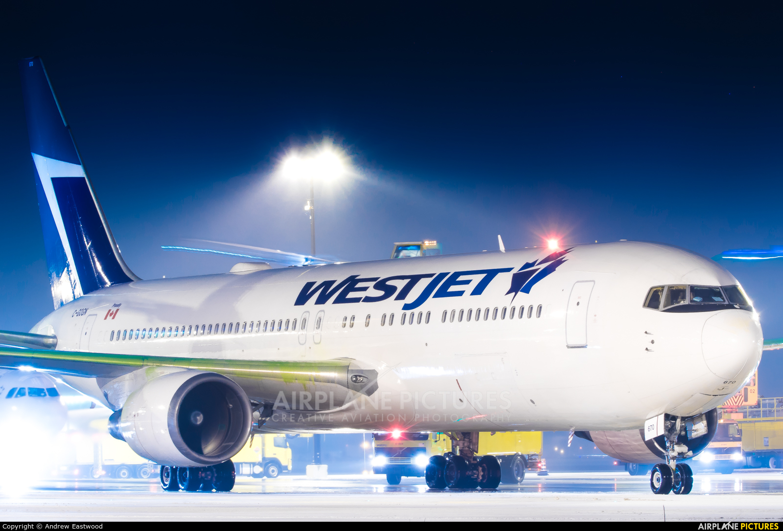 WestJet Airlines C-GOGN aircraft at Toronto - Pearson Intl, ON
