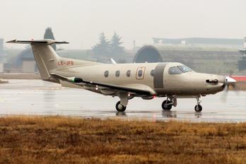 LX-JFQ - Jetfly Aviation Pilatus PC-12