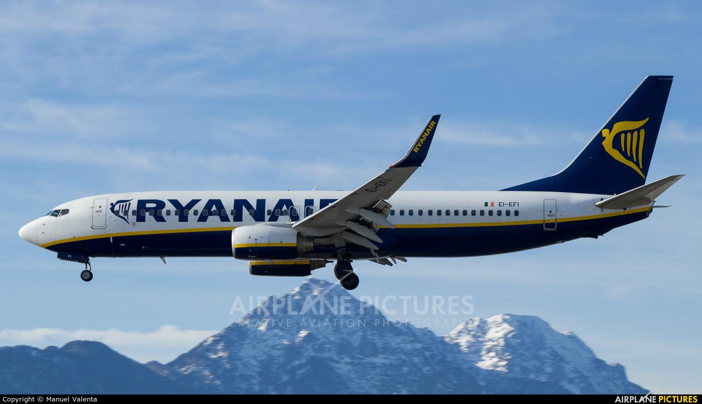 Ryanair EI-EFI aircraft at Salzburg