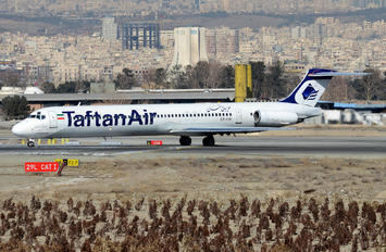 EP-CBI - Taftan Air McDonnell Douglas MD-83