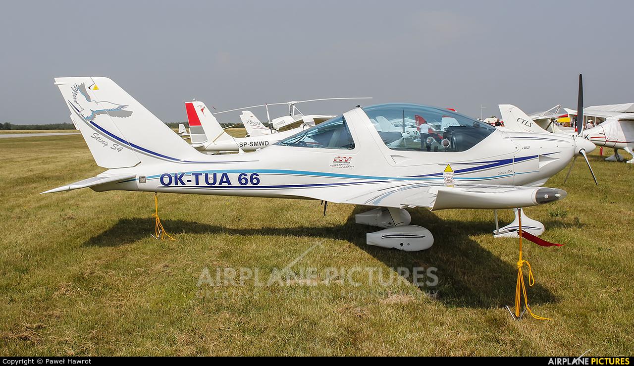 Private OK-TUA 66 aircraft at Rzeszów-Jasionka