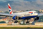 G-YMMP - British Airways Boeing 777-200 aircraft