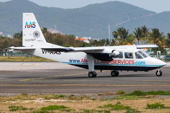 VP-AAS - Anguilla Air Services Britten-Norman BN-2 Islander