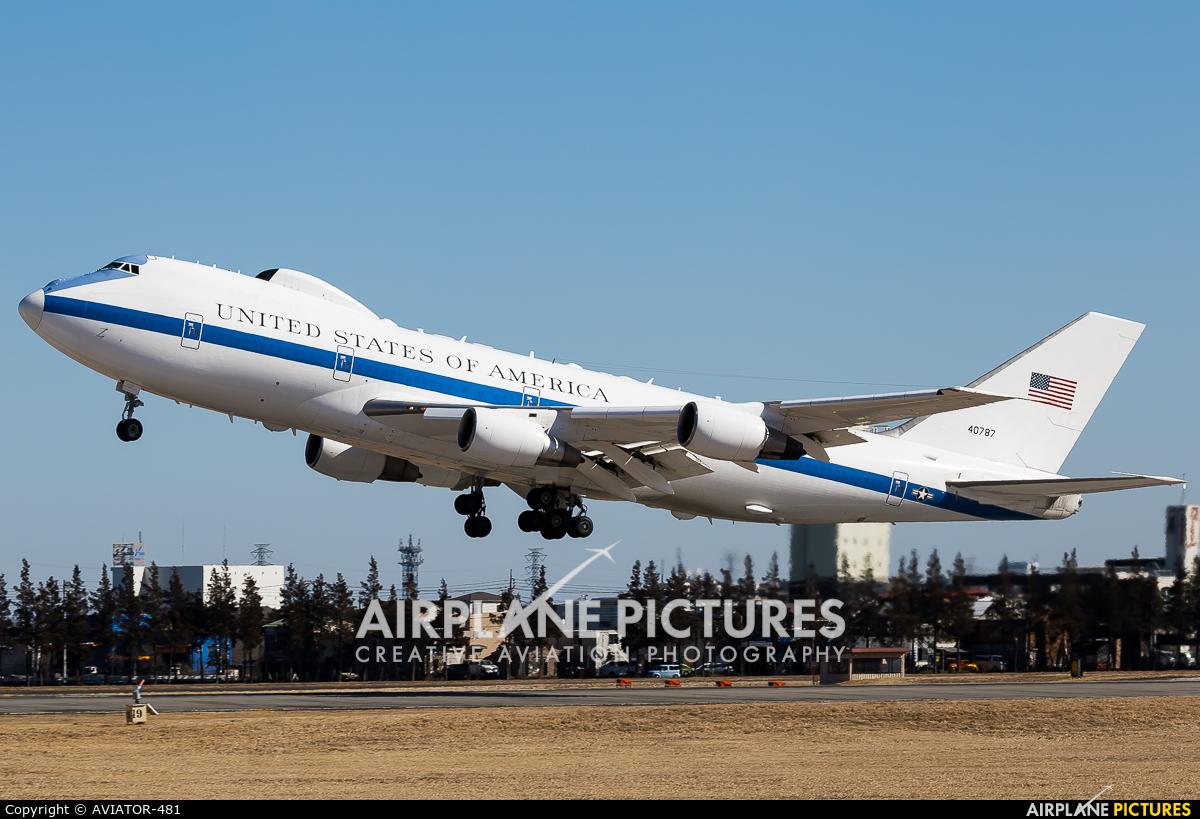 USA - Air Force 74-0787 aircraft at Yokota AB