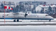 9A-CQF - Croatia Airlines de Havilland Canada DHC-8-400Q / Bombardier Q400 aircraft