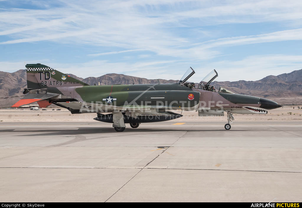 USA - Air Force 74-1638 aircraft at Nellis AFB